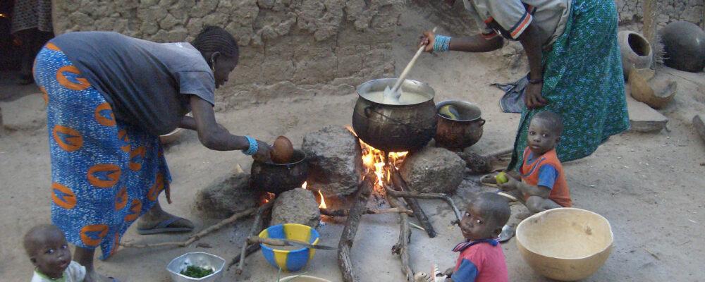 Mali, cocinando